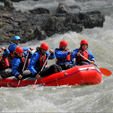 Chaltén Full Day: Rafting
